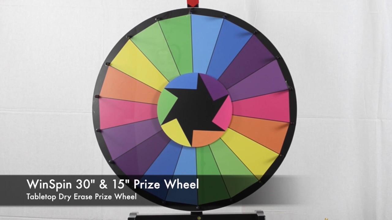 Wheel of excitement prizes