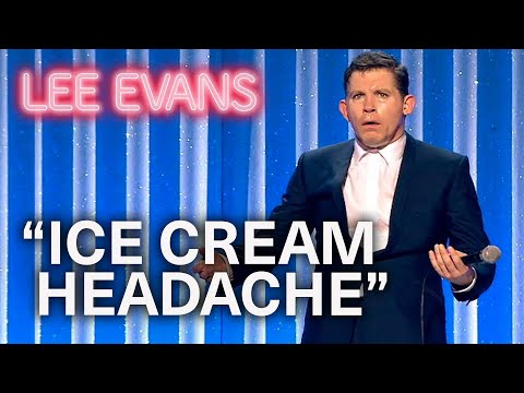When Ice Cream Strikes You Must Act Fast! | Lee Evans