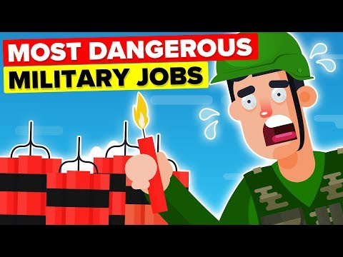 Most Dangerous Military / Army Jobs