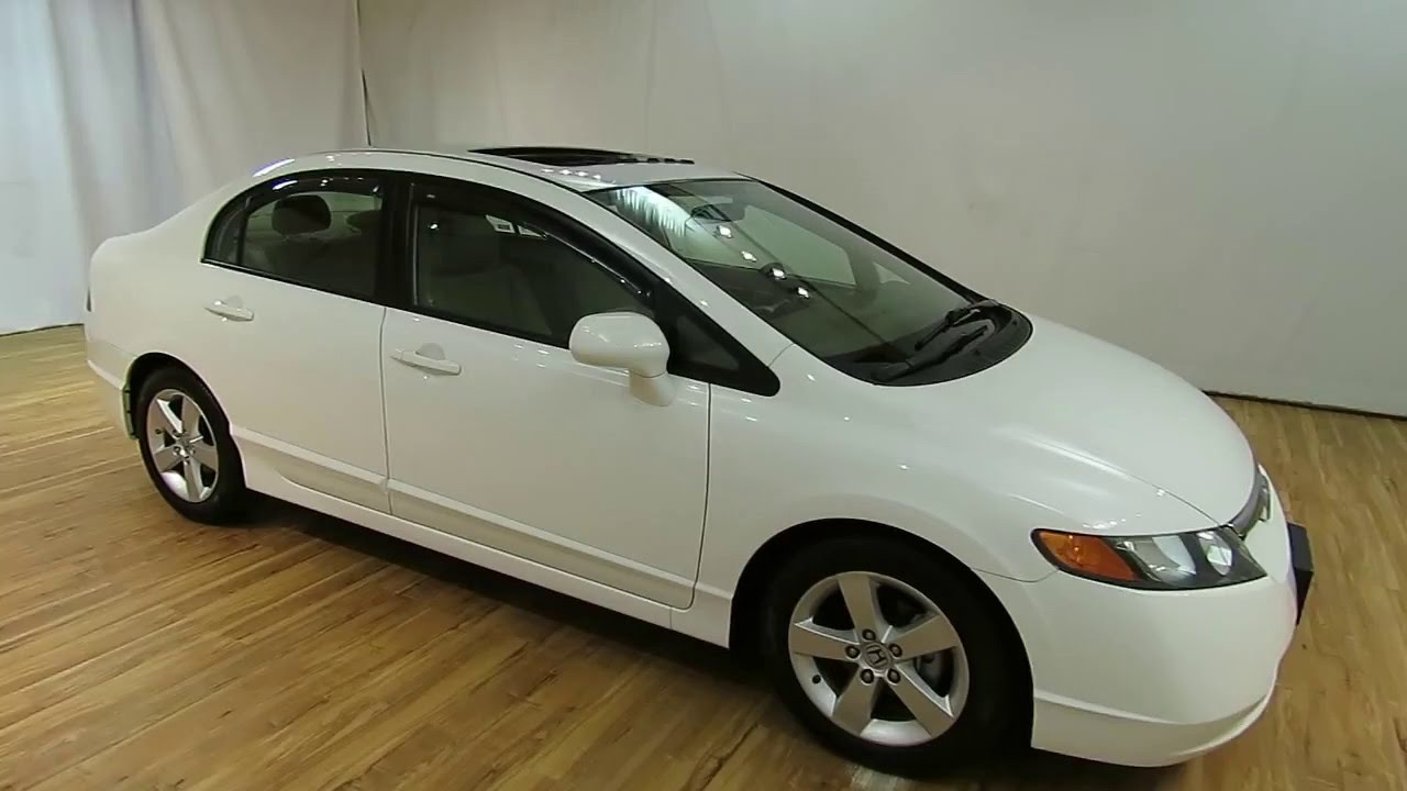 2008 Honda Civic Sdn EX L LEATHER SUNROOF @CARVISION.COM