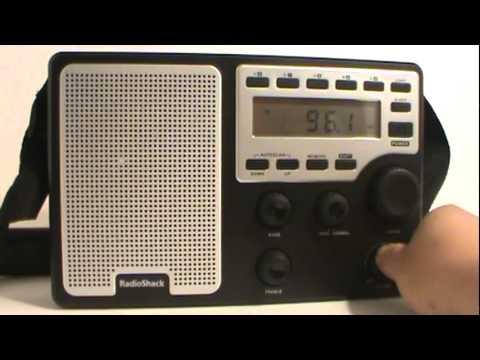 Radioshack extreme range AM/FM weather radio