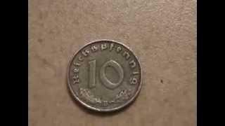 Рейх марки ( 10 пфенингов )