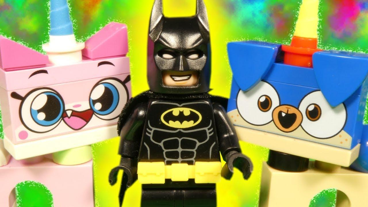LEGO UniKitty and BatMan