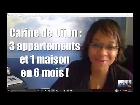 Investisseuse heureuse : Carine de Dijon achète 4 biens en 6 mois !