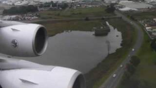 Smooth landing in Johannesburg 1