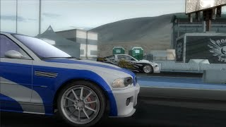 Need for speed Pro Street Gameplay Vs The Drag King