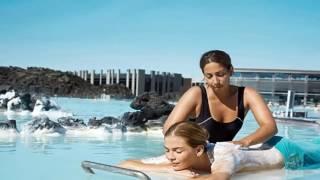 видео Spa-комплекс Blue Lagoon (Исландия)