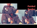 DIY: Patched Bomber Jacket |NO SEW