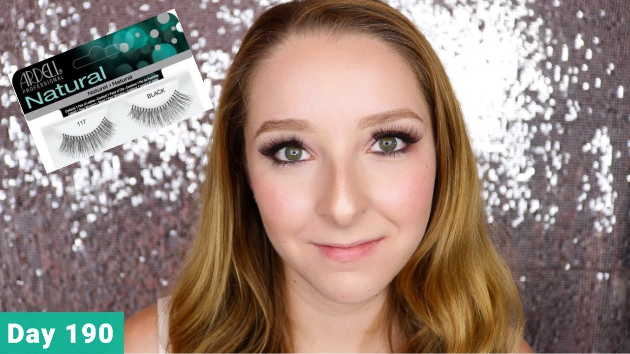 54f5728909c Ardell Natural 117 False Lashes Review and Tutorial | Day 190 of Trying New  Makeup Every Day
