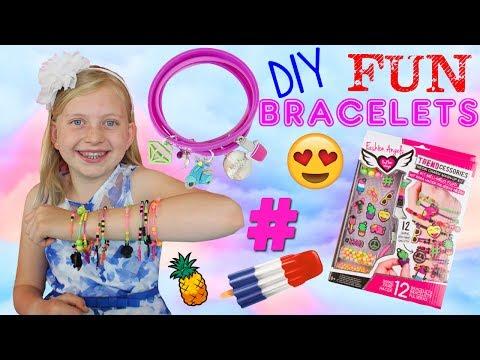 Super Fun DIY Charm Bracelets!!
