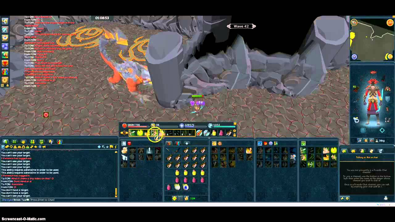 Runescape - Fight Caves - Ket-Zek Flinch! - YouTube