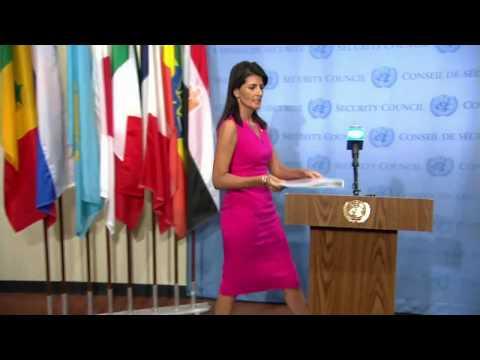 Ambassador Haley Updates the Press on IAEA Meetings in Vienna