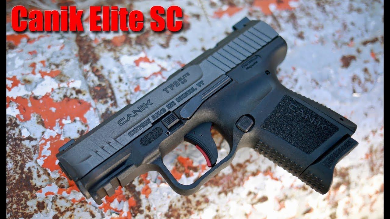 Canik Elite SC $300 Sub Compact 9mm: First Shots & Impressions