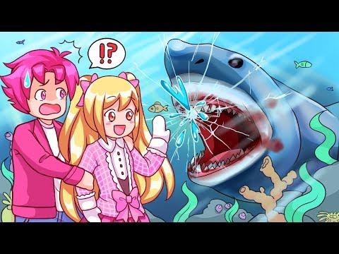 Can We Escape The Roblox Aquarium! (Roblox Story)