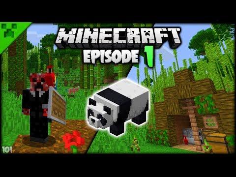 Minecraft Starter Tent & Beginnings! | Python's World (Minecraft Survival Let's Play S2) | Episode 1