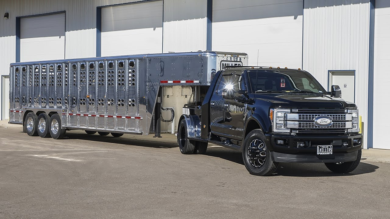 the new country truck  2017 f350 hauler edition with super