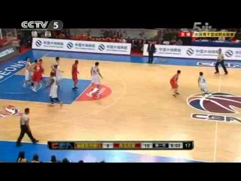 CBA Game-1st-1: Qingdao vs Fujian//Tracy McGrady's debut//11-25-2012