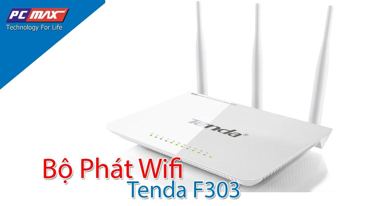 Hướng dẫn đổi tên và mật khẩu bộ phát Wifi Tenda FH303