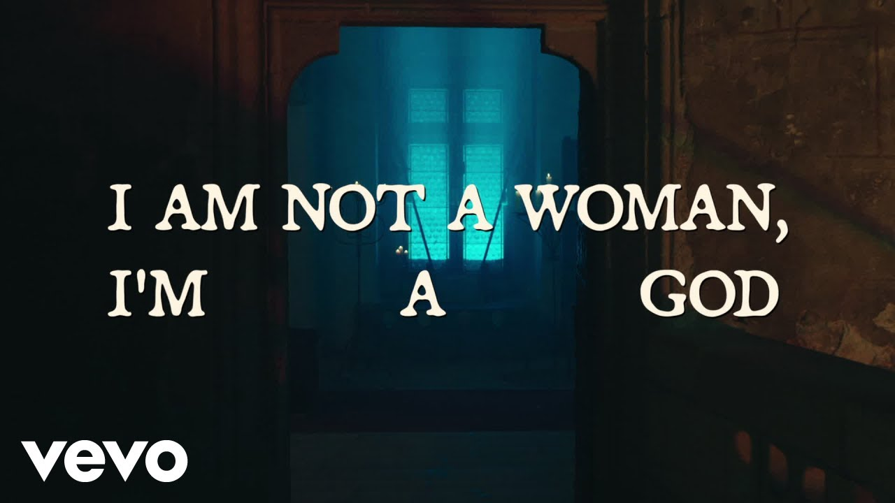 Download Halsey - I am not a woman, I'm a god (Lyric Video)