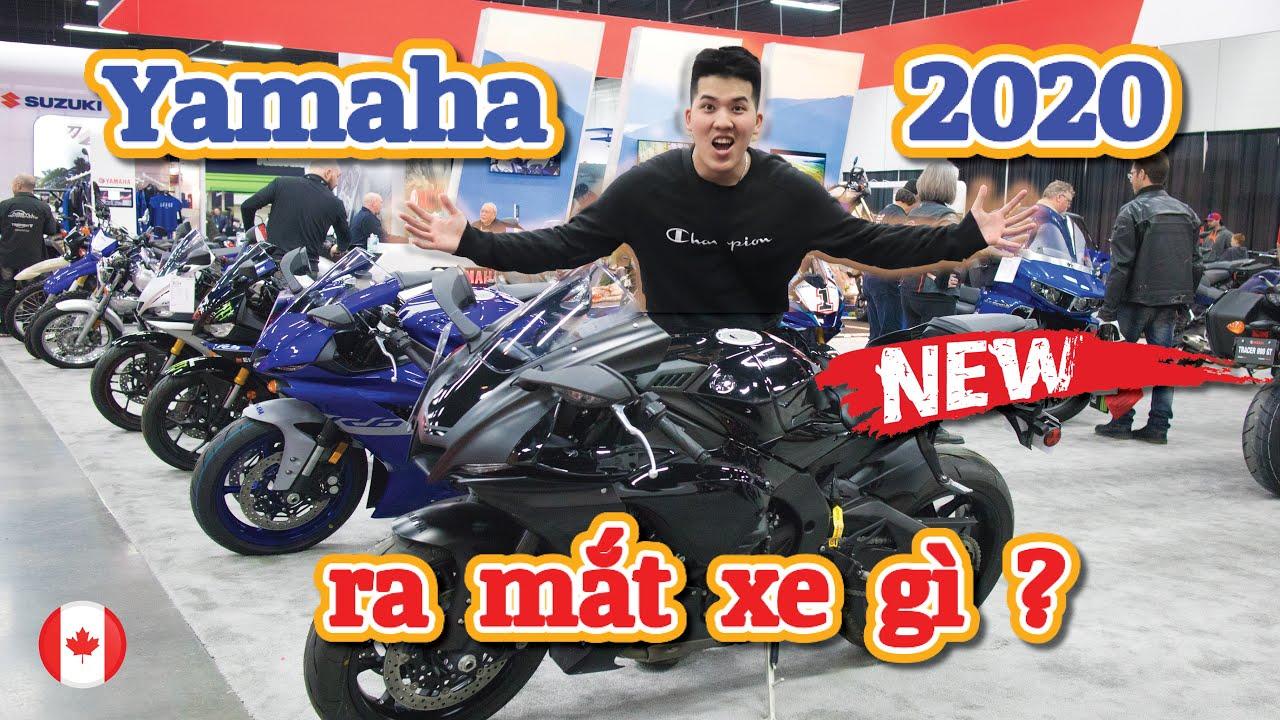 Motoshow Tour Tập 2   Yamaha ra mắt xe gì năm 2020 ?   Giá xe Yamaha ở thị trường Canada   Vlog #34