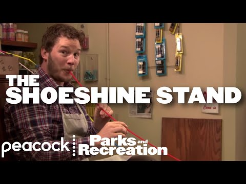 Best Of The Shoeshine Stand – Parks and Recreation