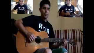 AZRA - USNE VRELE VISNJE ( lekcija za gitaru )
