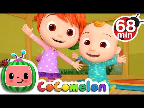 Stretching and Exercising Song | + More Nursery Rhymes & Kids Songs - ABCkidTV