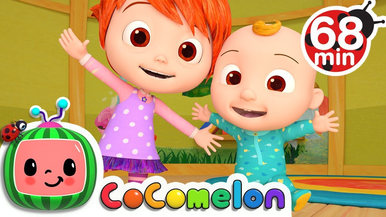 Stretching And Exercising Song More Nursery Rhymes Kids Songs Cocomelon Youtube