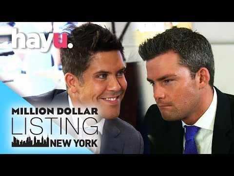 Fredrik Steals Ryan's Client | Million Dollar Listing New York