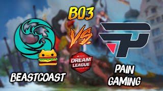 Beastcoast vs Pain Gaming ► Clasificatorias DreamLeague Major Dota 2 😍 | Dota 2