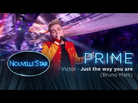Prime 02 - VICTOR  - Just the way you are (Bruno Mars) - Nouvelle Star 2017