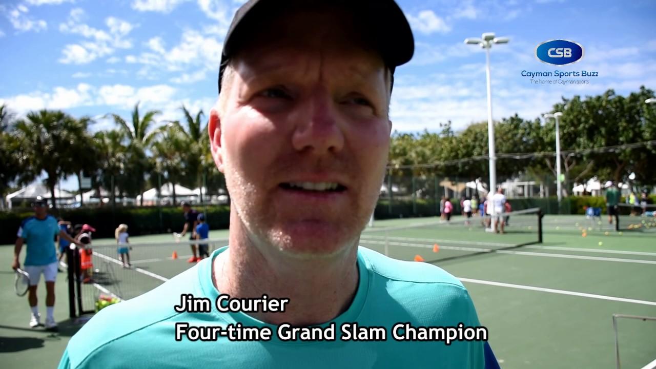 Jim Courier Legends at Camana Bay 2017
