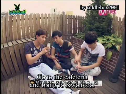 Funny 2PM + 2AM make Super Crazy Video ( eng sub )