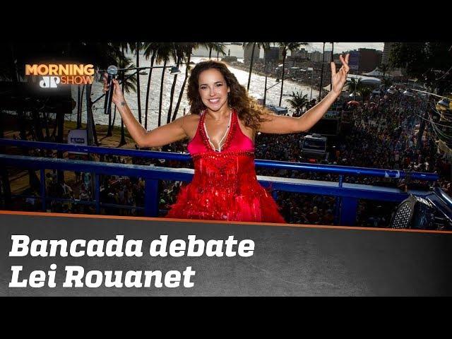 Bancada debate Lei Rouanet à luz da treta de Bolsonaro com Daniela Mercury
