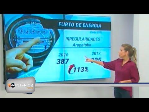 Aumentaram os furtos e fraudes de energia elétrica da região