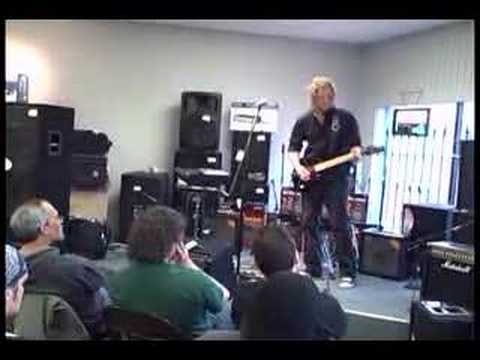 Paul Hanson and The VG-99 at Portland Music Company