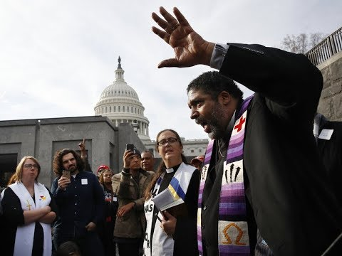 Nick Brana Arrested In Washington DC Protesting With Rev Barber's Poor People's Campaign