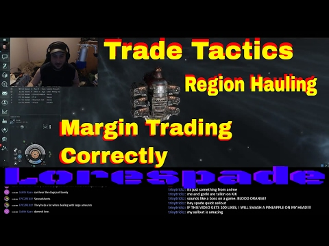 Eve Online | Trade Tactics and The Dangers of Space