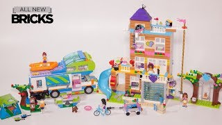 Lego Friends 41340 Friendship House with Mia's Camper Van Lego Speed Build