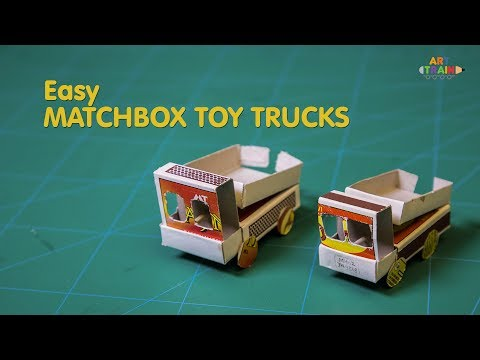 How to Make Easy Matchbox Toy Trucks
