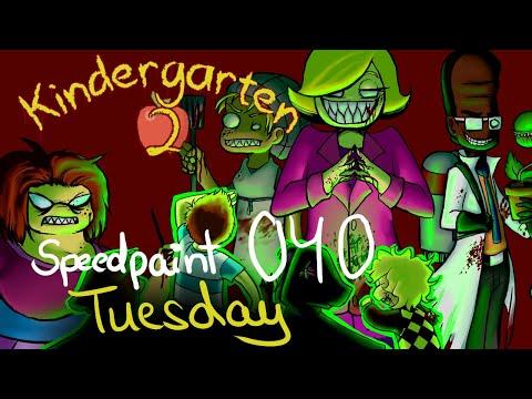Speedpaint[040] - Tuesday (Kindergarten 2 Speedpaint)