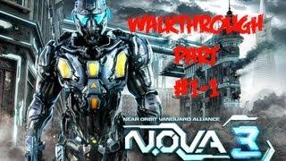 видео NOVA 3 - Прохождение игры