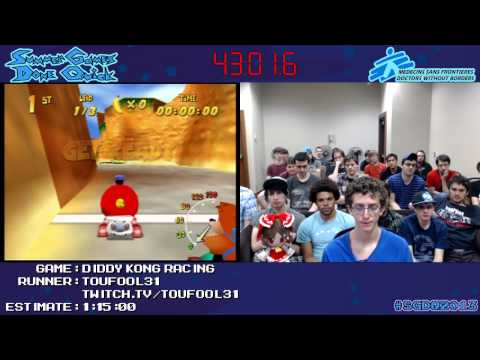 Diddy Kong Racing::SPEED RUN (0:50:49) WR *Live At #SGDQ 2013* [N64]