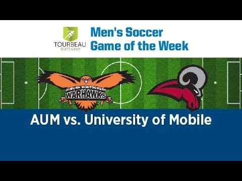 Mobile vs. Auburn-Montgomery (Men's Soccer)- Sat. October 19- 4:00pm EST