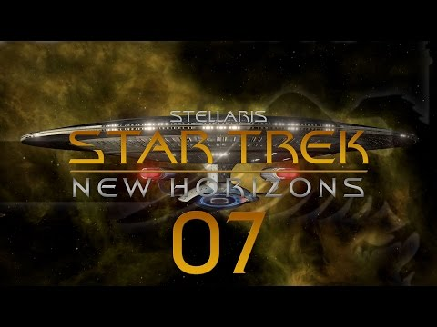 Stellaris Star Trek #07 STAR TREK NEW HORIZONS MOD - Gameplay / Let's Play