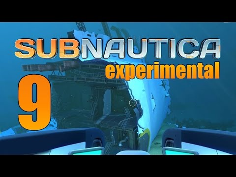Subnautica - Experimental Ep. 9 - Explorable Wreck & Modification Station Fragments!