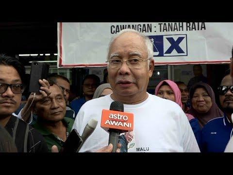 'Saya tak kisah pun kat dia' -  Najib
