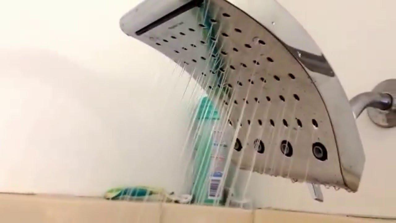 Oxygenics Curve 4 5 In 2 0 Gpm Chrome 3 Spray Watersense Rain Shower
