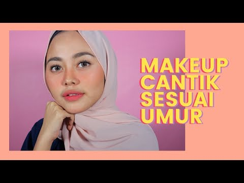 MAKEUP FLAWLESS TANPA FOUNDATION, CERAH & KINCLONG