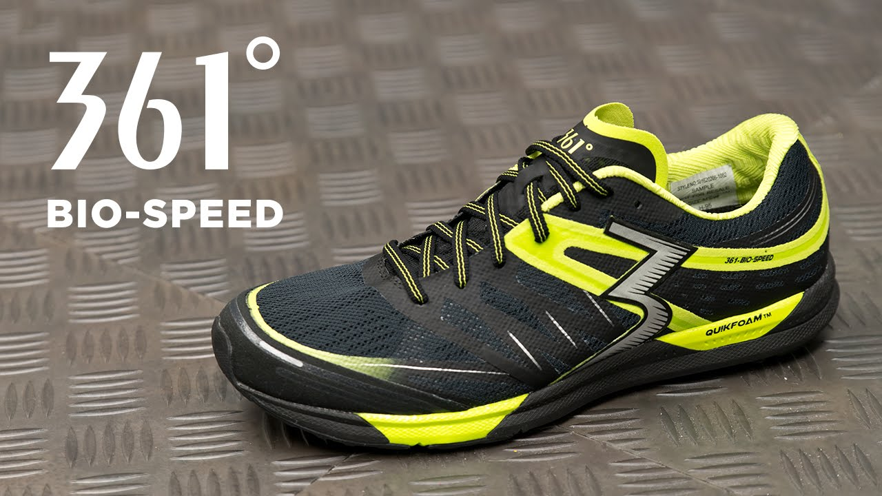 Training Shoe Overview: 361 Bio-Speed
